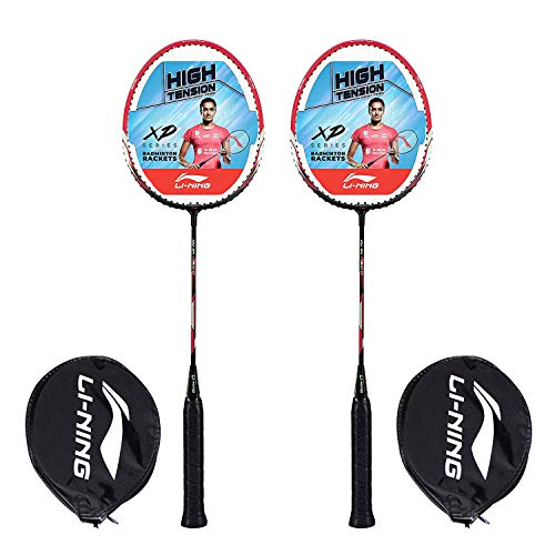 Li Ning XP Series Aluminum Badminton Racquet, Set of 2