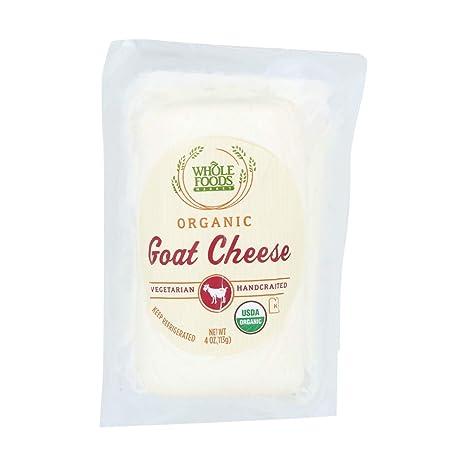 Whole Foods Market, Organic Goat Cheese, 4 oz