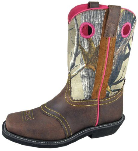 Smoky-Mountain-Ladies-Pawnee-Square-Toe-Boot-Brown-Oil-DistressPink-Camo