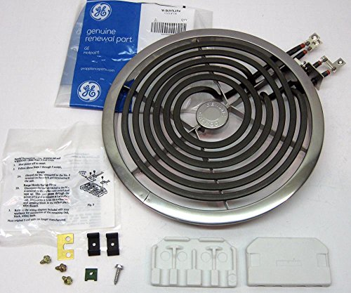 "Cooking Appliances Parts WB30X354 GE Range Electric Calrod Unit Burner Eye Large 8"" PS244048 AP2634795"