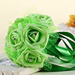 Wedding-BouquetNapoo-Crystal-Roses-Pearl-Bridesmaid-Bridal-Artificial-Silk-Flowers-Green