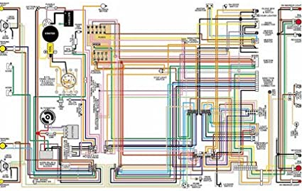 Amazon.com: Full Color Laminated Wiring Diagram FITS 1962 63 64 65 66 67 68  Volvo 121 & 122S Color Wiring Diagram 11