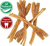 "7-9"" Beef Tendon Chews for Dogs (100 sticks) 