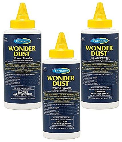 - Farnam Wonder Dust Pet Oinment, Wound Powder (3 Pack / 4-Ounces Each)