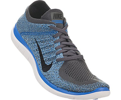 Products 8689224 Nike Free 4 0 Flyknit Mens Dark Grey Photo Blue Polarized Blue Black 631053 014 Switzerland