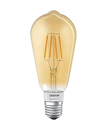 SmartAmpoule Edison Dimmable Connectée Culot Chaud Led Ambrée Blanc 5w60w 5 À E27 Vintage 2500k Filament Forme Osram Or kuPiOXZ