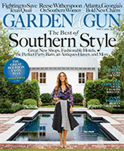 Garden and Gun Magazine (October/November, 2015) The Best of Southern - Taste Test Fast Food