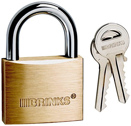 Brinks 671-50001 Commercial 50mm Brass Solid Body Lock