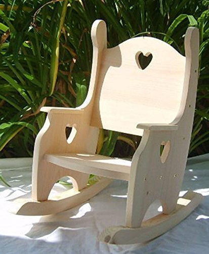 Children's Rocking Chair, - Unfinished Child Rocking Chair