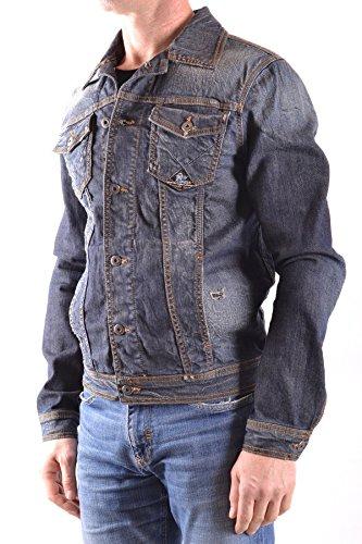 Roy Roger's Homme MCBI262031O Bleu Coton Veste