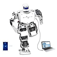 LewanSoul H3S 16DOF Biped Humanoid Robot Kit Free APP, MP3 Module, Detailed Video Tutorial Support Sing Dance(Assembled)