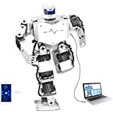 LewanSoul H3S 16DOF Biped Humanoid Robot Kit with Free APP, MP3 Module, Detailed Video Tutorial Support Sing Dance(Assembled)