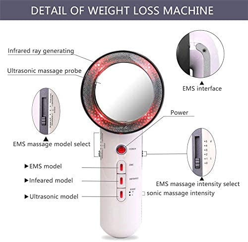 Mein LAY 3 in 1 Slimming Cellulite Removal Massager for face and Body Portable Electric Device for Weight Loss and Beauty 7