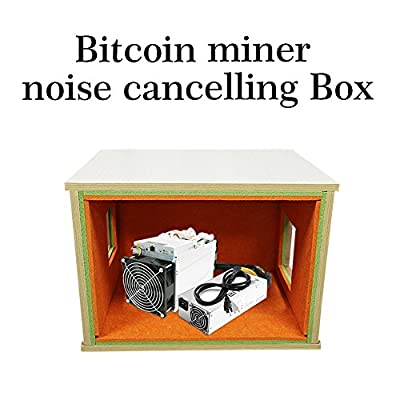 Antminer S9 L3+ Bitcoin miner noise cancelling Box