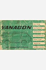 Volkswagen Vanagon 1980 Owner's Manual Paperback
