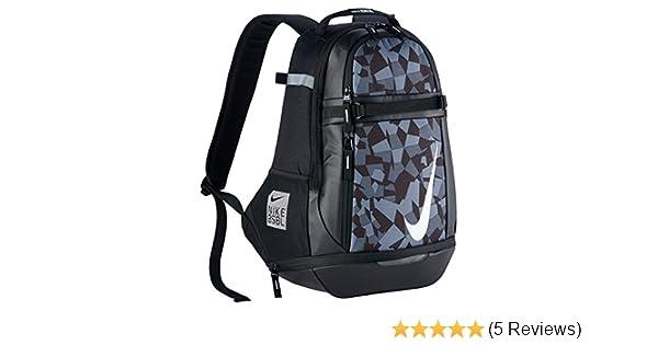 Amazon.com  Nike Vapor Select 2.0 Graphic Backpack Black White BA5357-010   Sports   Outdoors c9db7c062d91b