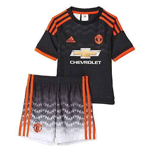 Mufc zwart Kinder Adidas kleur 3 trainingspak Mini rood rYddtqwF