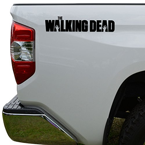 Rosie Decals The Walking Dead Die Cut Vinyl Decal Sticker For Car Truck Motorcycle Window Bumper Wall Decor Size- [6 inch/15 cm] Wide Color- Matte Black -