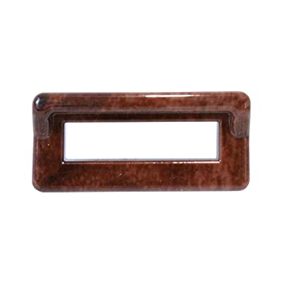 Grand General Wood Color Switch Bezel Cover with Visor for Peterbilt 2000 Down: Automotive