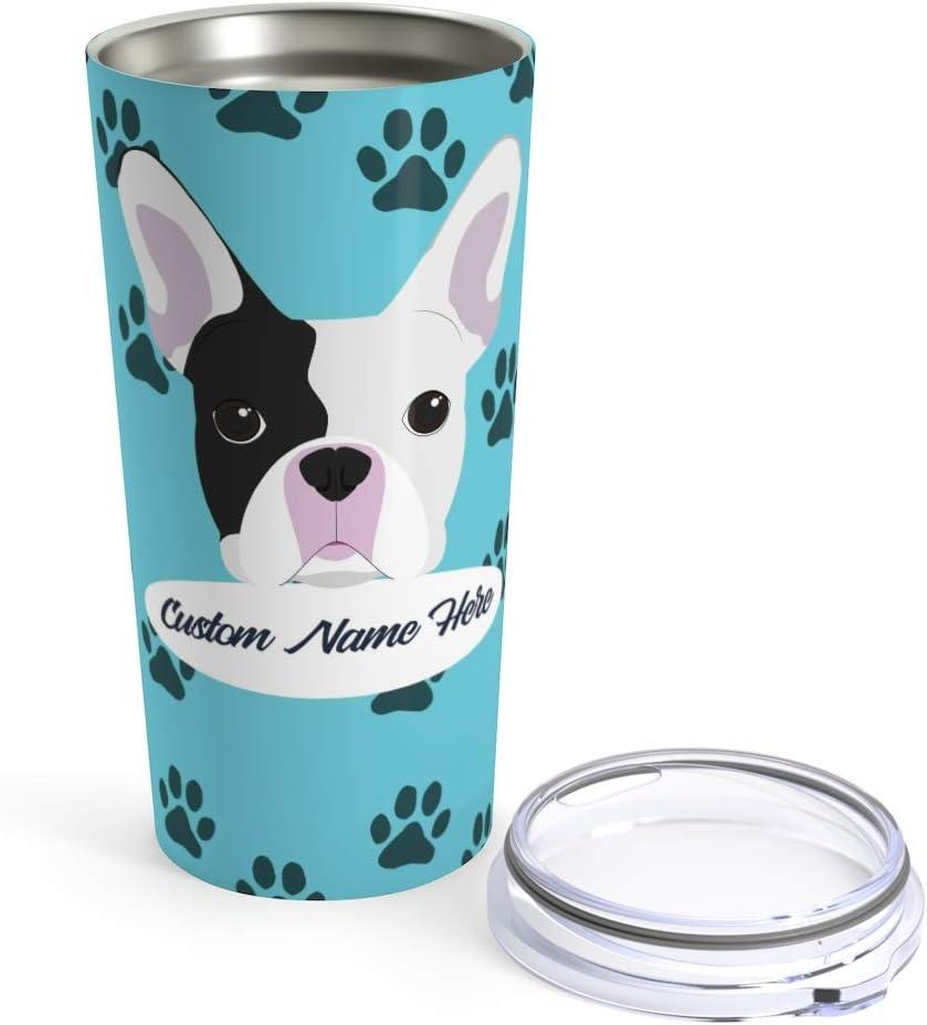 French Bulldog Tumbler,Tumbler Frenchie Mom Tumbler Dog Mom custom TUMBLER