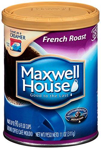 Maxwell House French Roast Ground Coffee (11 oz Tin)