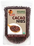 Cacao Nibs Organic Raw Superfood by SOW+BLOOM – Sugar Free, Gluten Free, Non GMO - 2 lb (32 oz), Not Cocoa Nibs
