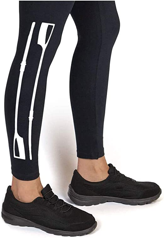 Youth To Adult Sizes rw-00791 Paddles Leggings Multiple Colors Crew Leggings by ChalkTalk SPORTS