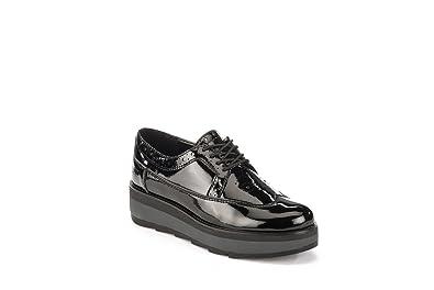 What For Lace Shoes Femme Noir, 37
