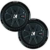Kicker CompRT package - Two 10' CompRT Subwoofers Dual 2 Ohm 40CWRT102