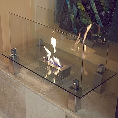 Nu-Flame Fiero Ethanol Fireplace ()