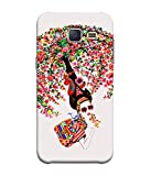 PrintVisa Designer Back Case Cover for Samsung Galaxy J1 Mini Prime (Graphic Abstract Illustration Modern Art Colorful Beauty Drawing)