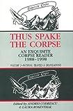 Thus Spake the Corpse, Andrei Codrescu, 1574231421