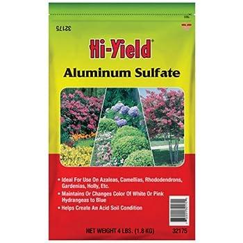 Voluntary Purchasing Group Fertilome 32175Aluminum Sulfate Soil Conditioner, 4-Pound