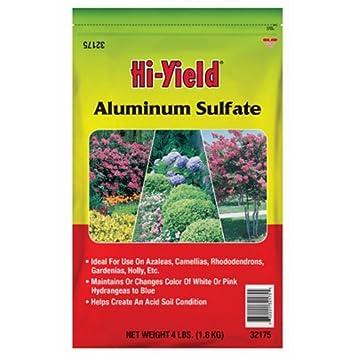 Voluntary Purchasing Group Fertilome 32175 Aluminum Sulfate Soil  Conditioner, 4 Pound