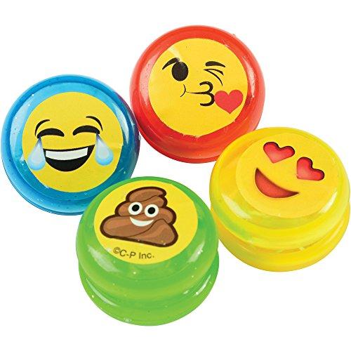 Marvel Trading Company, Inc. US Toy Mini Emoji Yo-Yos Toys Kid Toy 1.25