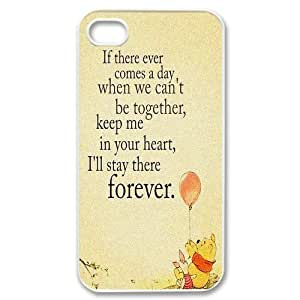 iPhone 4 / iPhone 4s TPU Gel Skin / Cover, Custom TPU iPhone 4g Back Case - Winnie The Pooh