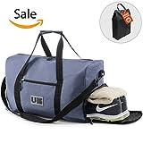 UBAG Travel Duffle Bag, Gym Bag or Weekender Duffel Bag for Women & Men