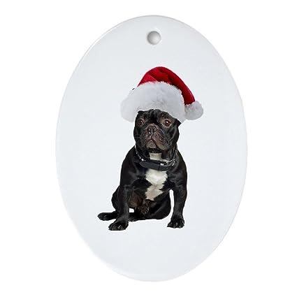French Bulldog Christmas Ornament.Cafepress French Bulldog Christmas Oval Ornament Oval Holiday Christmas Ornament