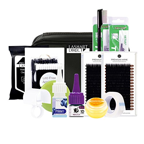 WonderLash Starter Semi Permanent Individual Eyelash Extension Kit
