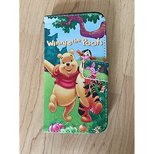 Samsung Galaxy S7 Wallet Case,Winnie The Pooh S7 Flip Stand Leather Case Ship From NY 1 Sales