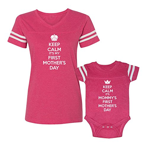 We Match! Keep Calm Mommy's First Mother's Day