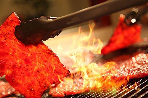 "Made to Order Fire-Grilled Oriental Bacon Jerky 12 Ounce (Original Flavor) aka Singapore Bak Kwa - Los Angeles Times ""Handmade Gift"" winner"