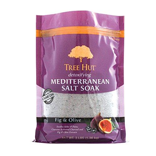 Mediterranean Salt Soak Fig & Olive, 3Ibs, Ultra Hydrating Epsom for Nourishing Essential Body Care ()