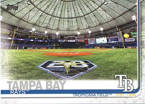 2019 Topps Series 2 Baseball #566 Tropicana Field Tampa Bay Rays Official MLB Trading Card