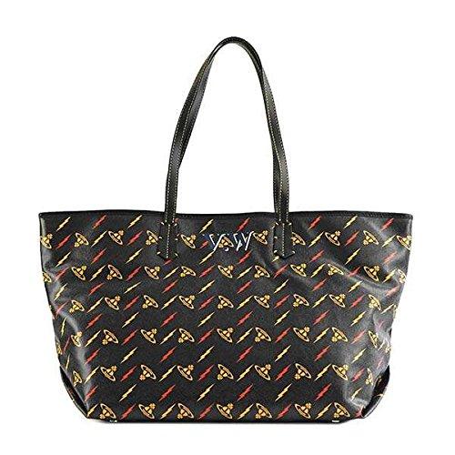 Vivienne Westwood ヴィヴィアンウエストウッド SMALL SHOULDER BAG トートバッグ ブラック 41010017 [並行輸入品] B07FPQXB3D