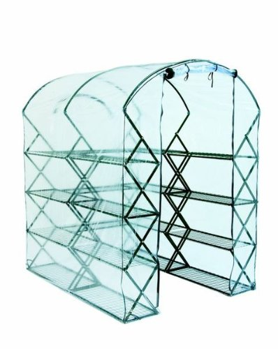 FlowerHouse FHXUPR-CC Harvest House Pro Clear Cover, 72in X 78in X 54in