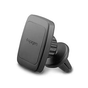 Spigen Kuel Car Phone Mount Premium Magnetic Air Vent Phone Holder Magnetic Car Mount Compatible with iPhone X/XS/XS Max/XR / 8/8 Plus/Galaxy S9 / S9 Plus/Note 8 / Note 9 / S8 / S8 Plus