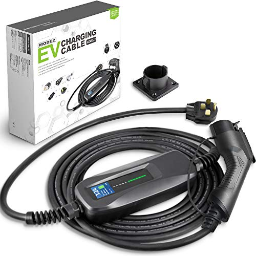 Morec Ev Charger Level 2 32 Amp Upgraded Portable Electric Vehicle Charger Nema 14 50 220v 240v 26ft 7 9m Ev Charging Cable Sae J1772 Compatible With Most Electric Cars