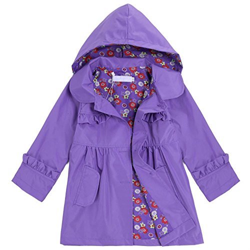 light rain jacket girls - 8