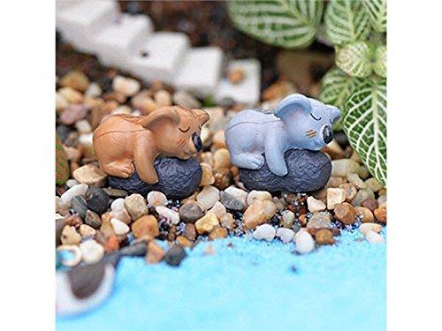 FenBuGu-JP DIYコアラマイクロランドスケープオーナメントミニチュア工芸品ガーデンドールハウスデコレーション(ランダムカラー)の商品画像